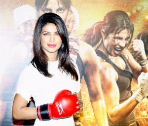 Unveiling of Mary Kom film trailer