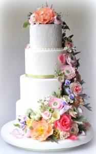 classic-white-wedding-cake-with-pastel-flowers__full