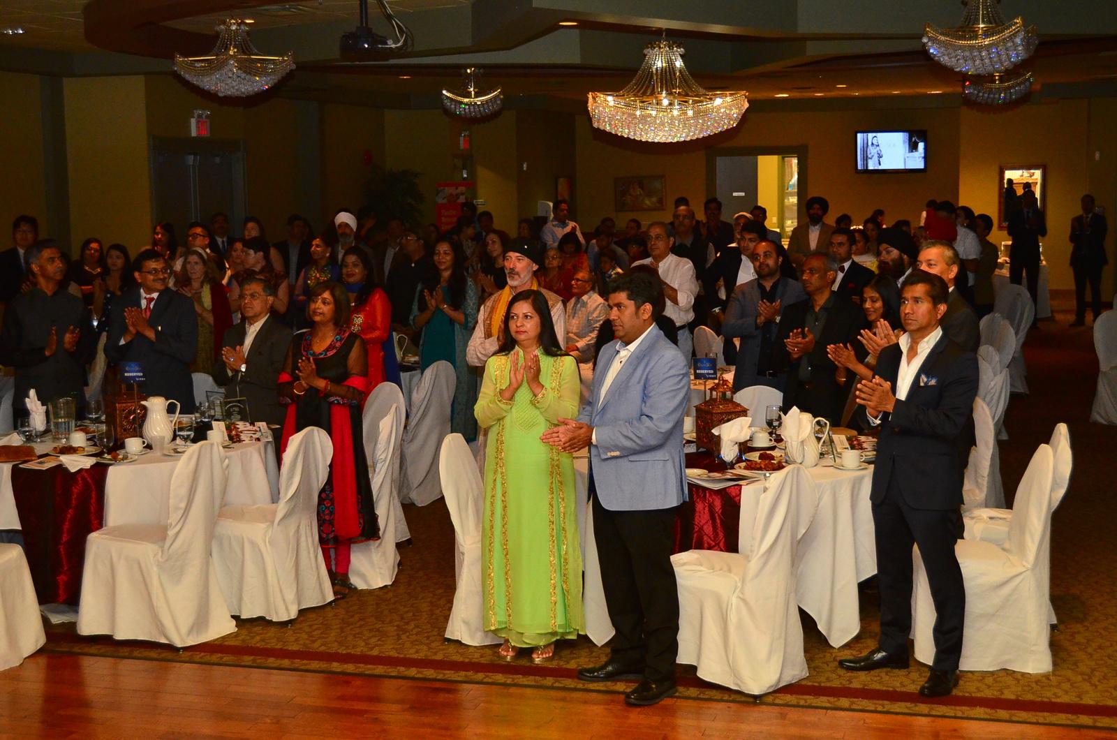 Evening event at Krystal Banquet Surrey