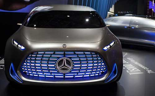 Mercedes Benz To Launch New Eq Electric Vehicle Range