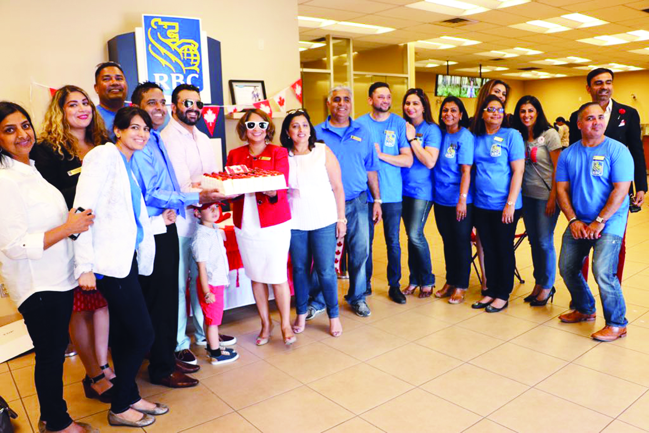 RBC Scott Town Branch Celebrated Canada's 150th