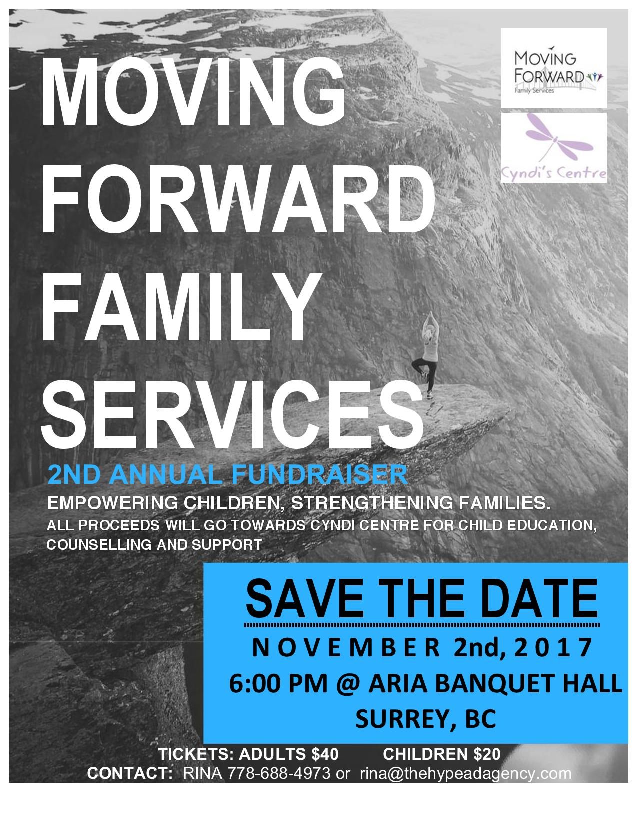 Moving Forward Family Services: 2nd Annual Fundraiser