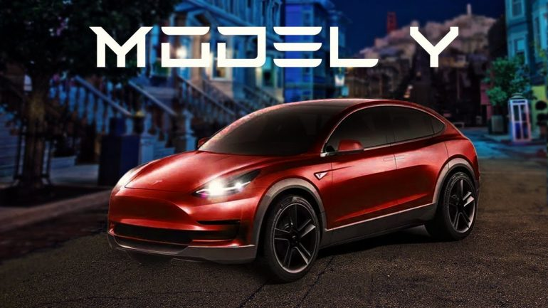 Tesla Model Y: Expected to hit the marketplace in late 2018