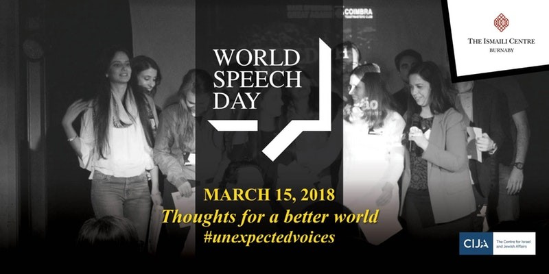 World Speech Day March 15