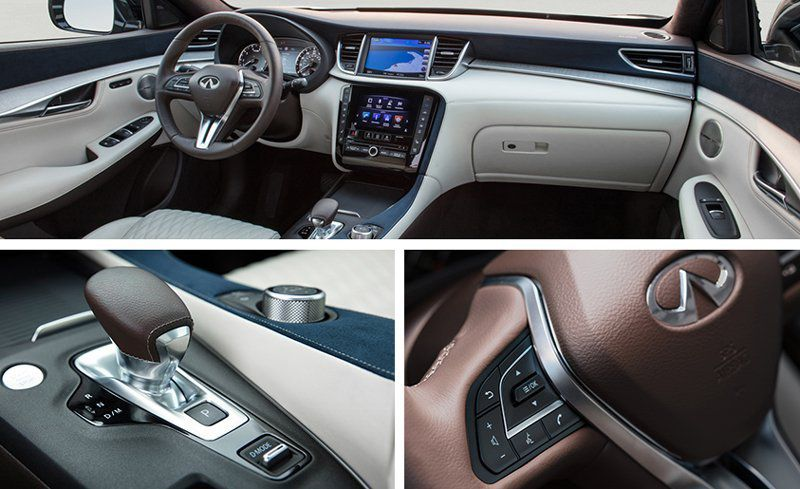 All-new 2019 INFINITI QX50 multi-tone interior inspired by ...