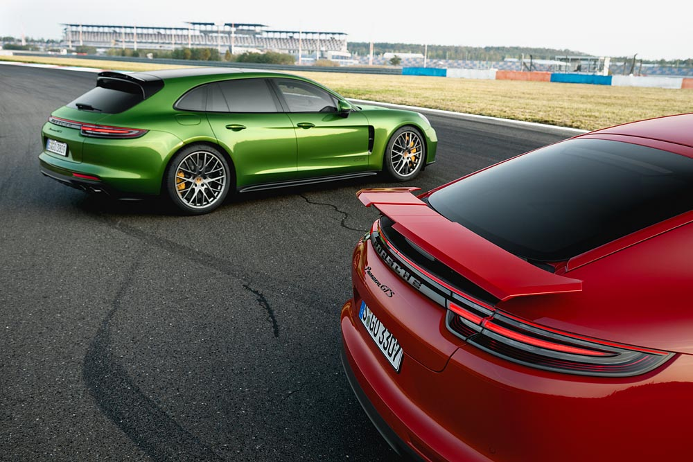 Two Gts Models Join The Porsche Panamera Family Drishti Magazine