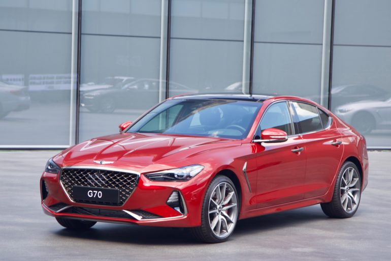 2019 Luxury Car Of The Year: 2019 Genesis G70: Finalist For North American Car Of The