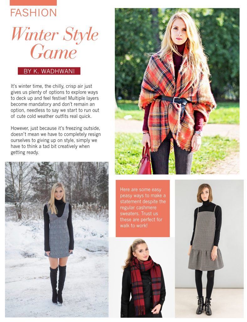 Winter Style Game