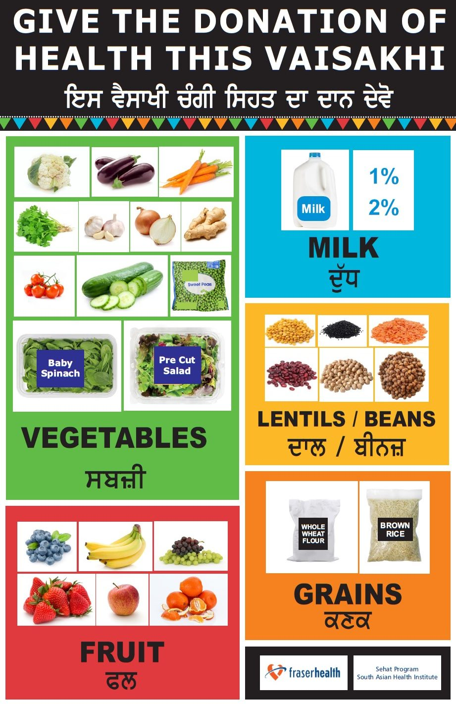 Healthy Eating and Food Safety At Vaisakhi - Smart Tips From