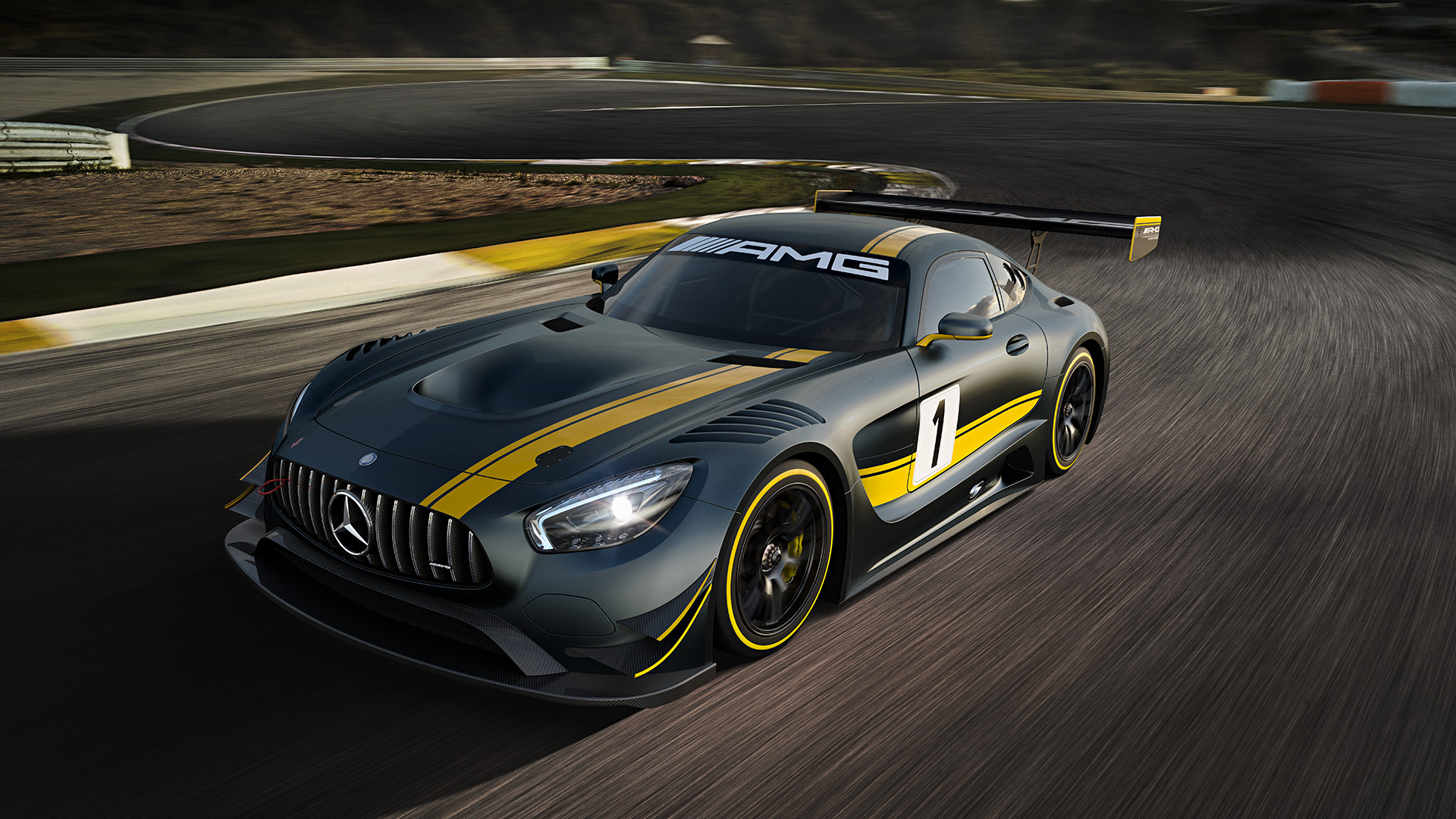 Win A Mercedes Amg Hot Lap Around The Official Grand Prix