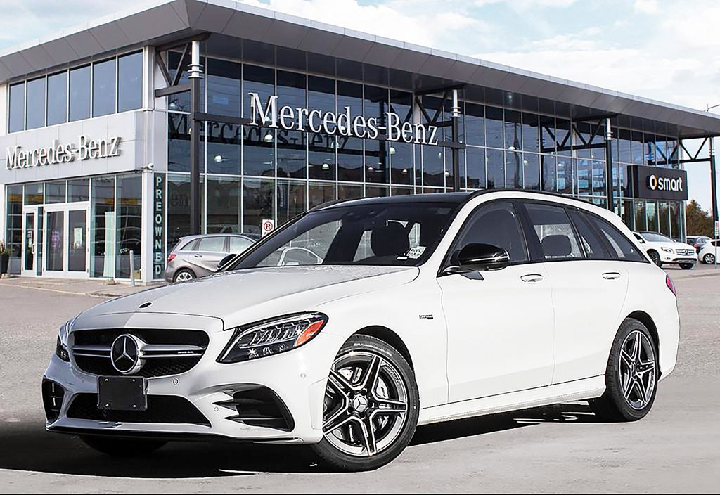 2020 Mercedes-AMG C43 4Matic Wagon: Exotic, Fast and ...